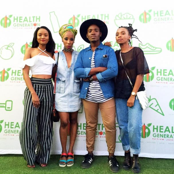 Thanks for the amazing afternoon Health Generation! I think I'm ready for summer.   Photo by Nnyane Kodie/Brilliant Kodie #healthgenbw #onmyown — with Gosego Katai, Gaone Mothibi and Tsholo Dikobe.