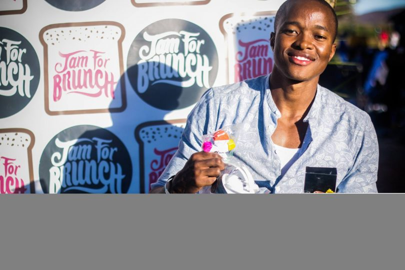 It easy to step out on a limb, this dude whacked the FNB eBucks piñata and won himself some cool freebies. Cava the smile