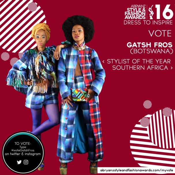 Candidates for Stylists of the year in Southern Africa