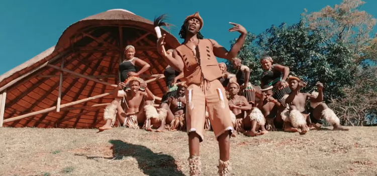 Watch Phologolo feat. Zakwe Africa inspired 'Rema Africa' video