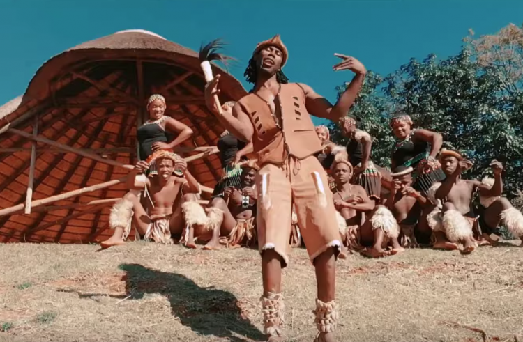 Watch Phologolo feat. Zakwe Africa inspired 'Rema Africa' video