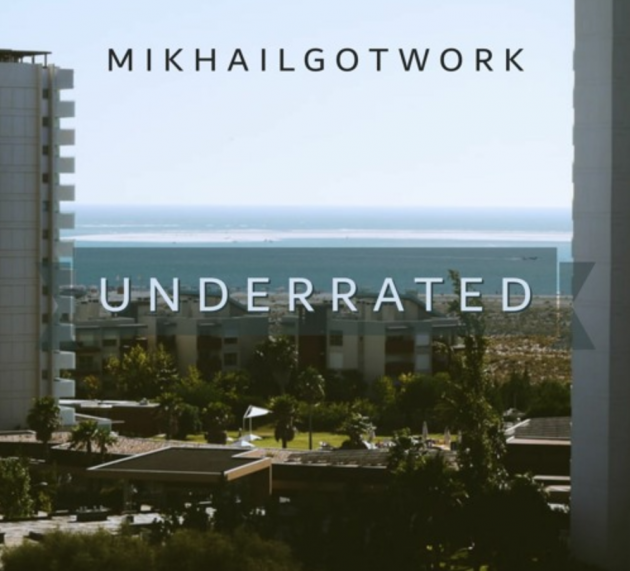Stream Mikhail's new 'Underrated' project