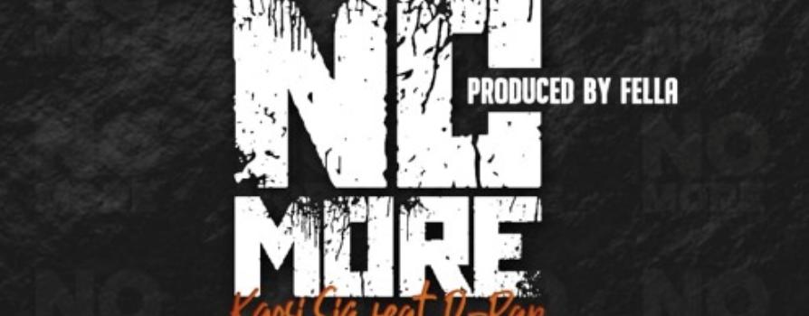 Kgosi Siq – No more ft. D-Rap (Prod. By Fella)