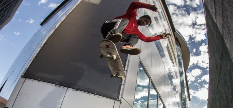 Watch Kagiso Leburu in  'Four Pula', a young BW skater's story.